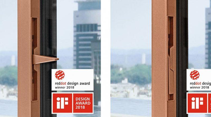 Pierwsze okna zukrytą klamką marki WICONA już narynku