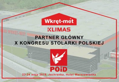 Klimas Wkręt-Met partnerem głównym X Kongresu Stolarki Polskiej