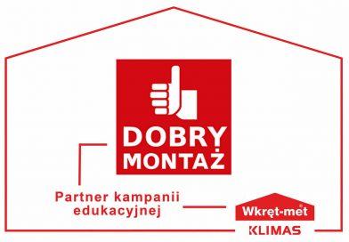 Klimas Wkręt-met partnerem akcji edukacyjnej Dobry Montaż