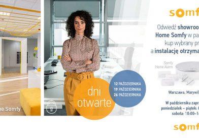 Październik podznakiem smart promocji wHappy Home Somfy