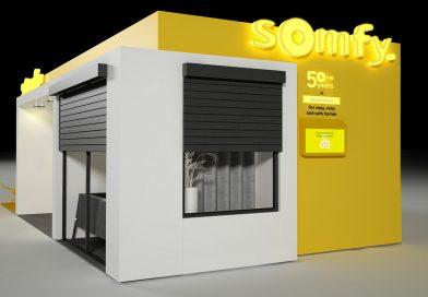 Łatwo, wygodnie ibezpiecznie wdomu pokazowym Somfy na4 Design Days
